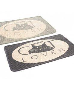 Macskás juta szőnyeg – 2 színben