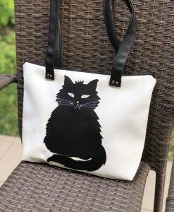 Bundás cicás táska és neszesszer
