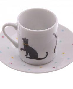 ... Páros kávés csésze szett – Cica mintás deeb069d3b