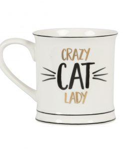 Crazy Cat Lady bögre