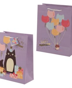 Születésnapi nagy macskás ajándék táska – Nagy