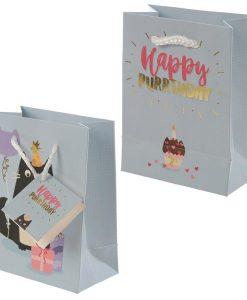 Születésnapi kis macskás ajándék táska – Kicsi