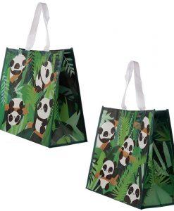Pandás bevásárló táska