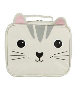Macskás uzsonnás táska