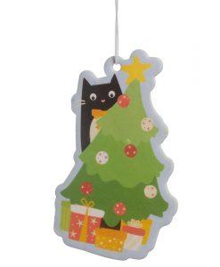 Karácsonyfás macskás illatosító