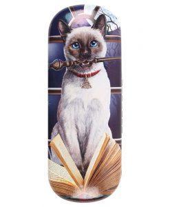Sziámi cicás szemüvegtok – Lisa Parker