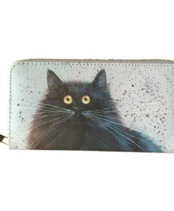 Őrült macskás pénztárca